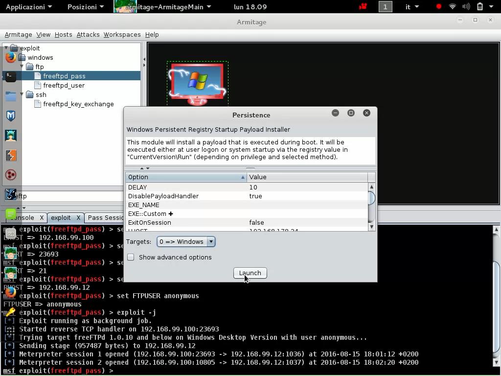 armitage gui metasploit backdoor – Hacker Web Security