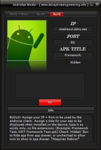 AndroRAT IP