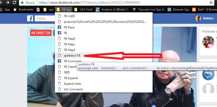Come Intercettare le Coordinate degli Spettatori di Facebook Live Map