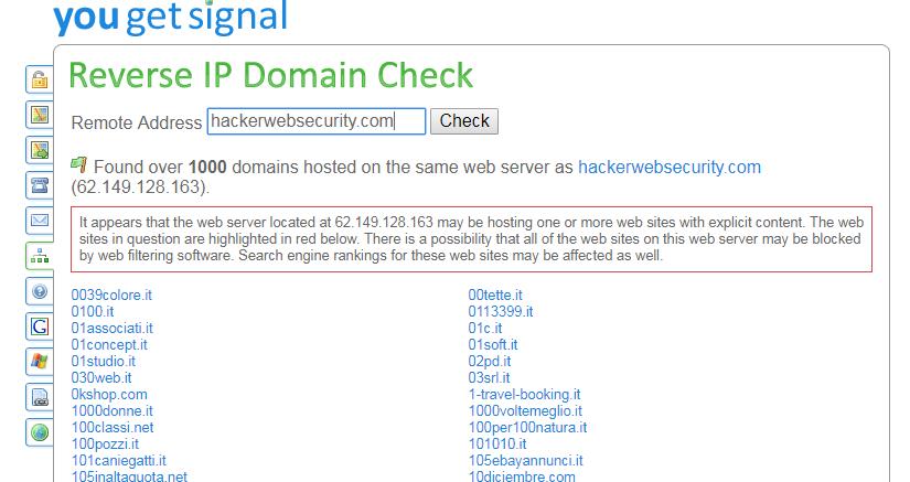 Come Investigare un Web Server
