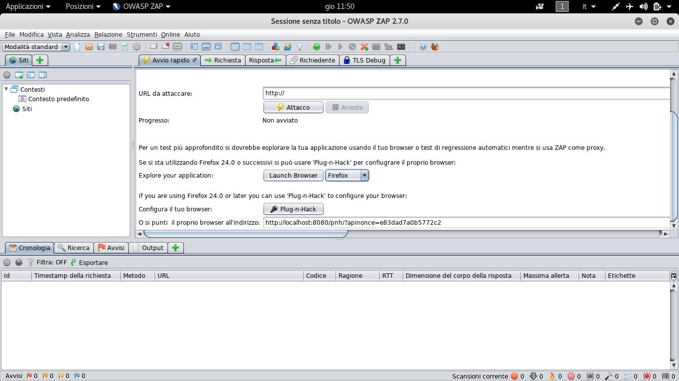 Ispezione Manuale con OWASP-ZAP | Hacker Web Security